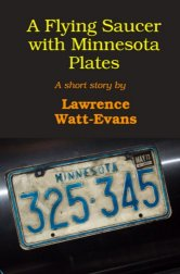 A Flying Saucer with Minnesota Plates